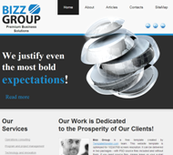 Website Design Sample 2